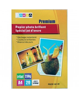 Papier photo A4 haute définition , 230 g/m²