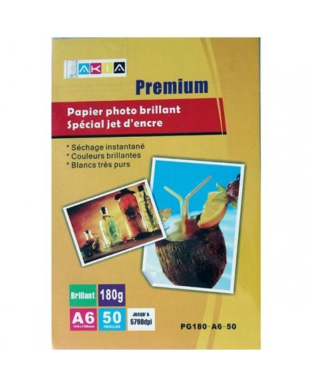 Papier photo A6 haute définition , 180 g/m²